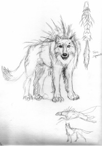 Spined Wolf