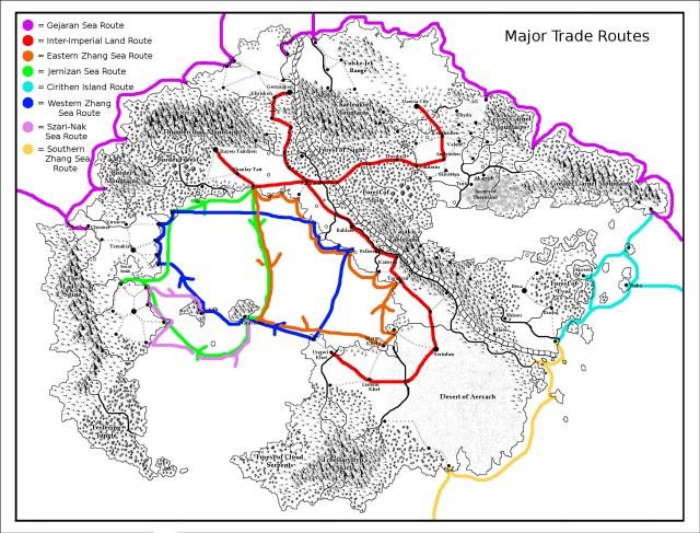 Major Trade Routes