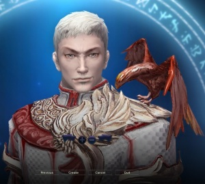 An image of Emperor Aradys IV (taken from the game Aion).